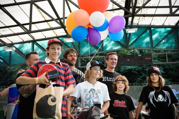 Juniorzy na etnies ESC 2010