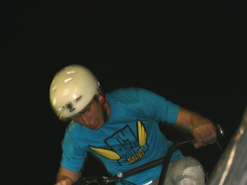 Baltic Games 2010 - Dzień I - BMX eliminacje Rafał Kierc