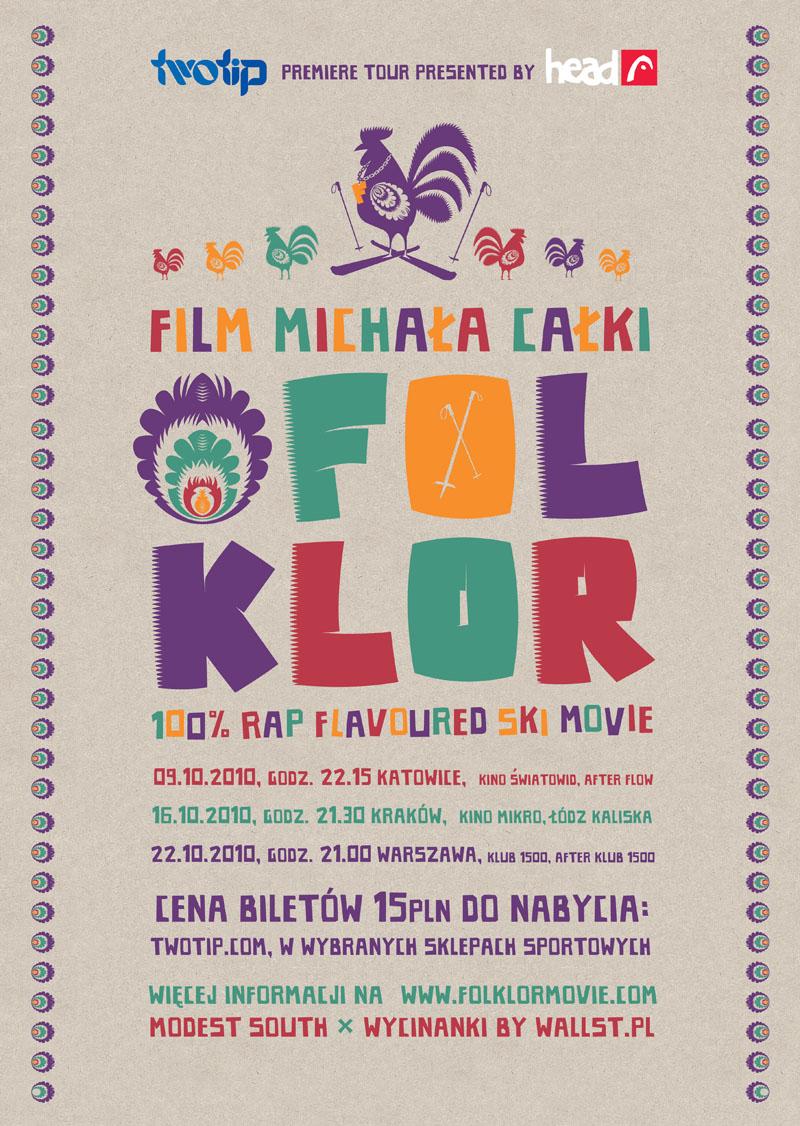 Plakat Folklor