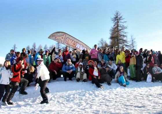 Ferie – Winter Break vol.II SnowCamp 11-20.02.11