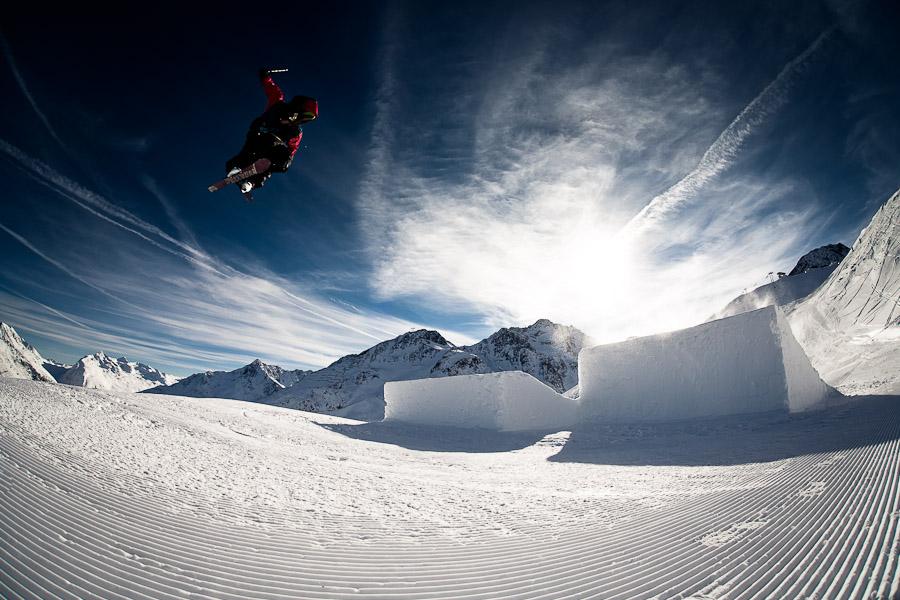 Soelden snowpark Austria