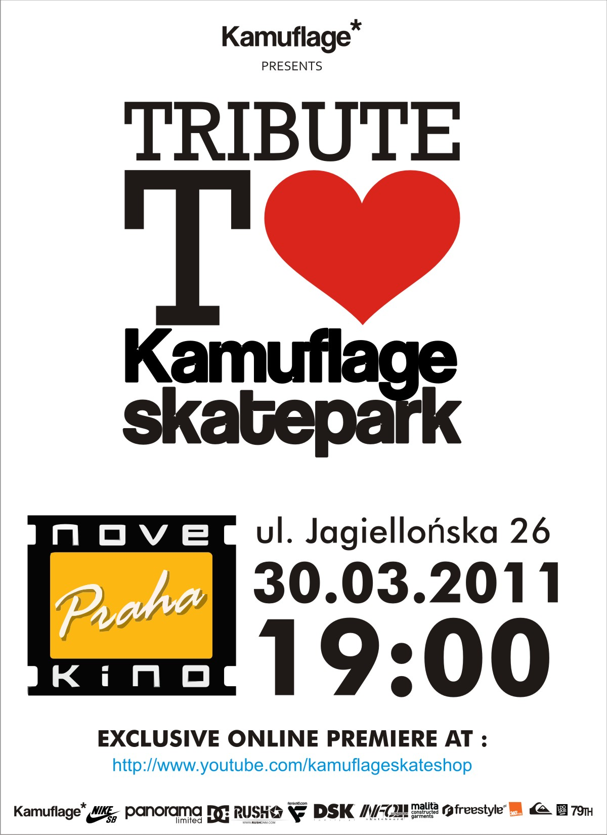 Tribute to Kamuflage Skatepark