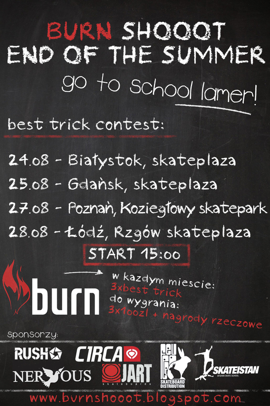 Burn Shooot Tour - Białystok