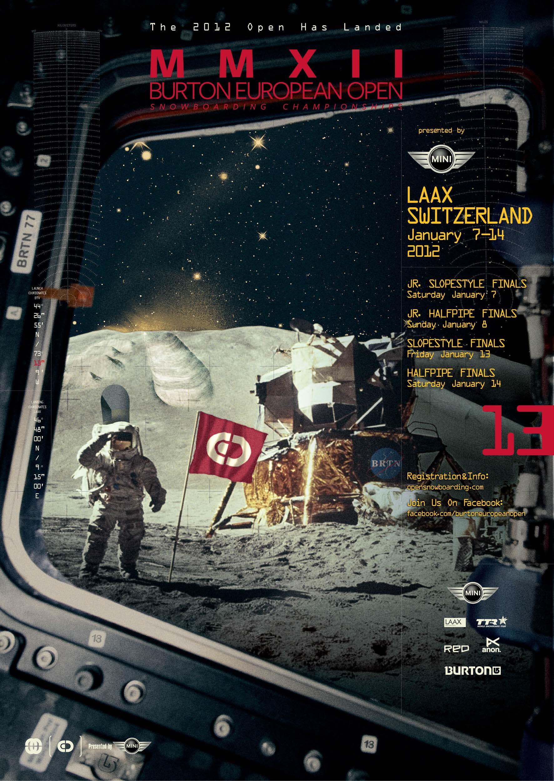Burton European Open 2012 Outer Space