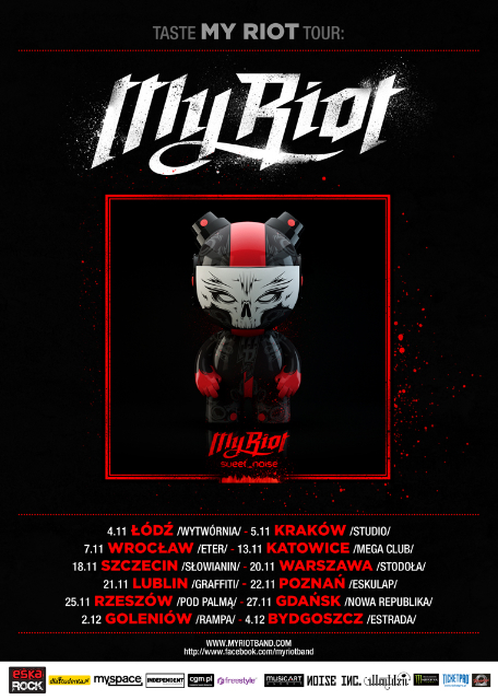 Taste My Riot Tour 2011
