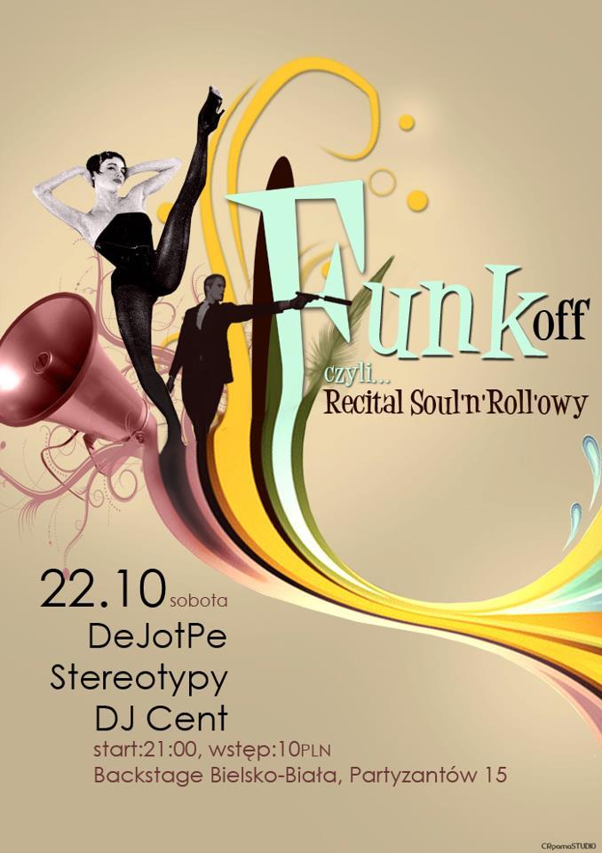 FUNK OFF czyli Recital Soul'n'Roll'owy