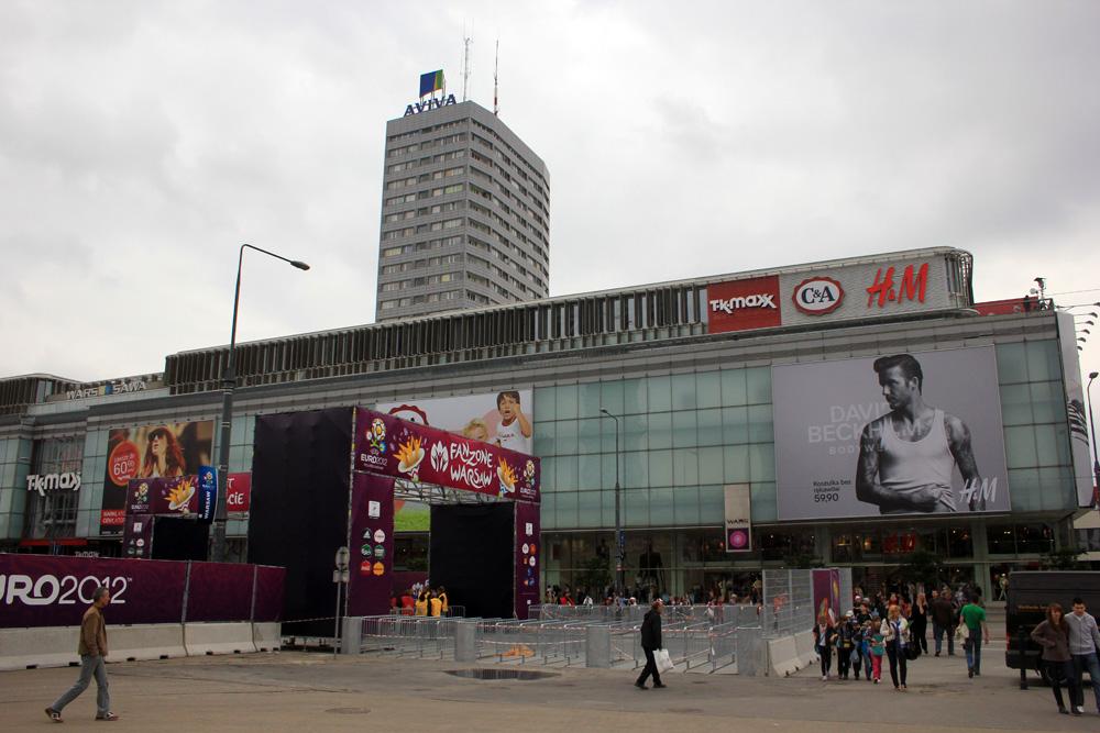 Warszawa i szał Euro 2012 - Marszałkowska
