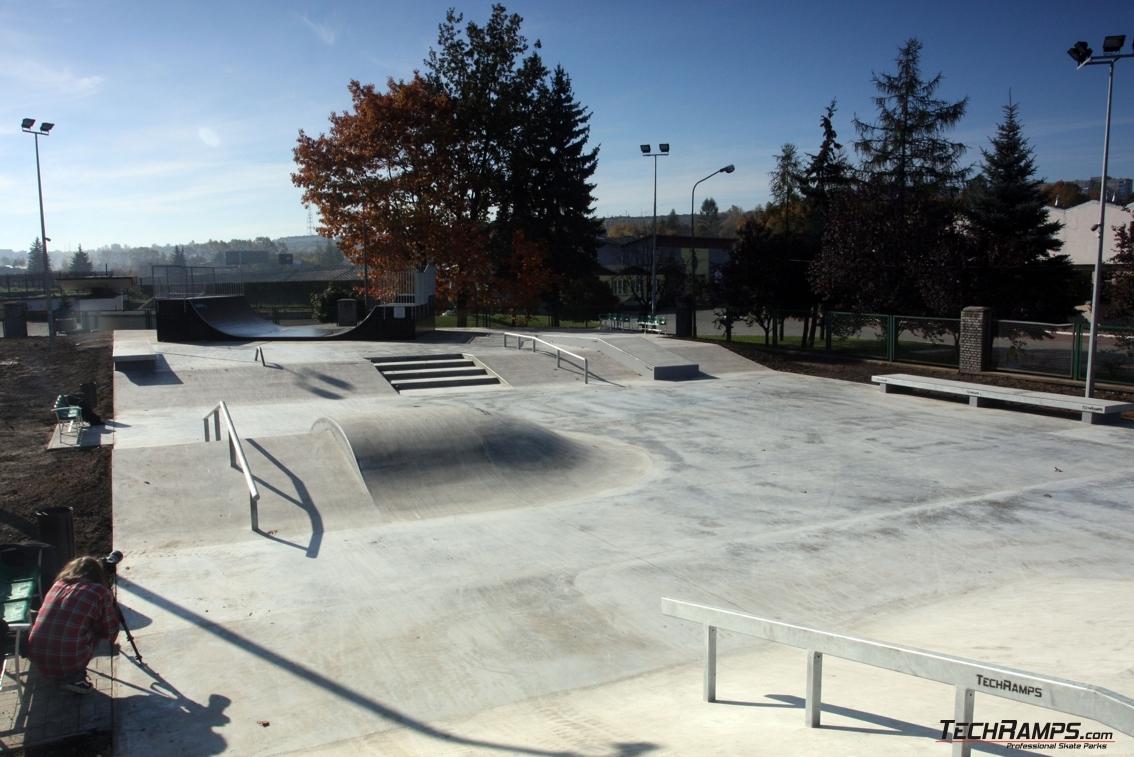 Skatepark w Będzinie