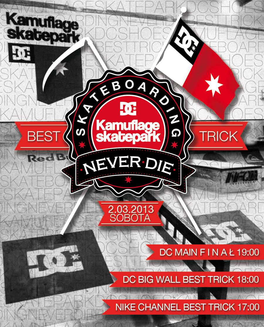 Skateboarding kamuflage never die!