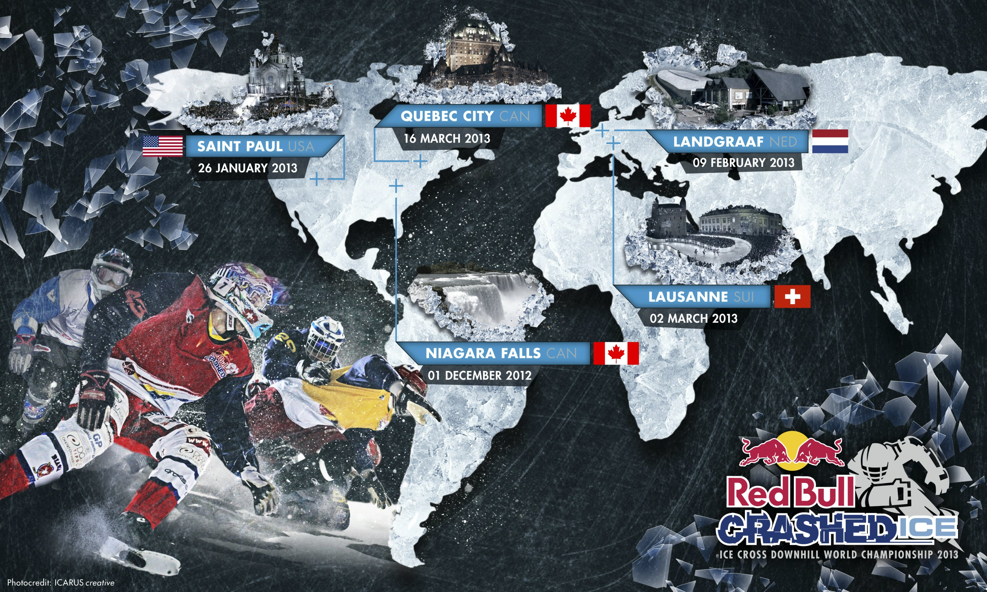 Red Bull Crashed Ice 2012-2013