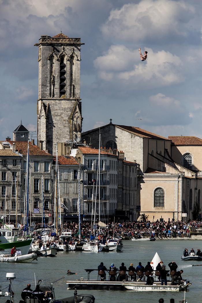 Red Bull Cliff Diving 2013 La Rochelle