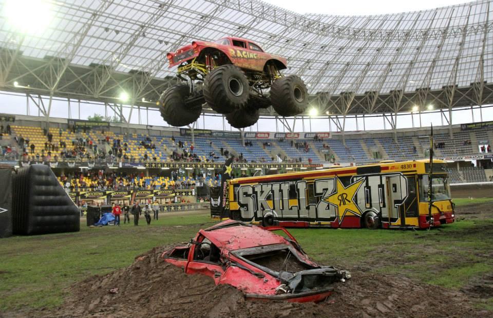 Monster Truck na Motoarenie w Toruniu
