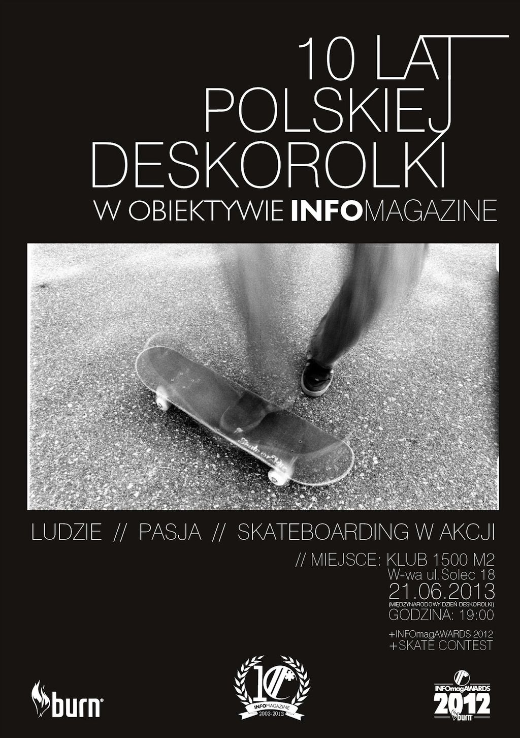Wystawa 10 lat polskiej deskorolki