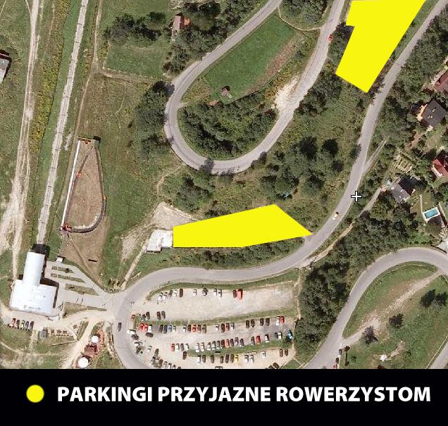 Downhill Contest 2013 - Żar - Parking