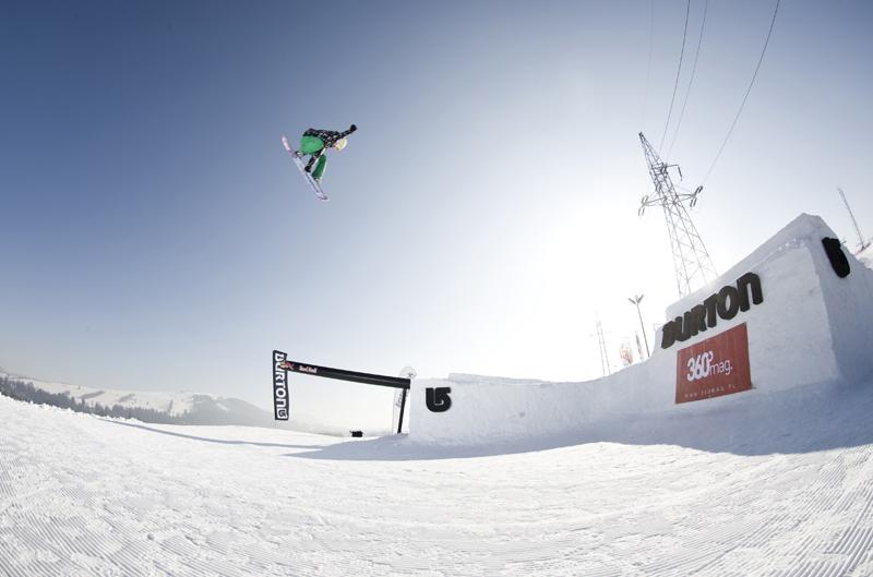 Michał Ligocki - Oscyp Snowboard Contest 2014