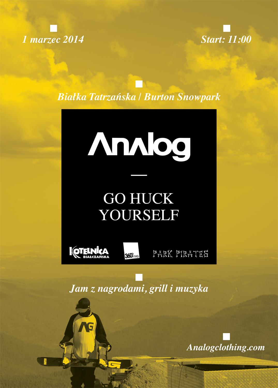 Analog Go Huck Yoursefl