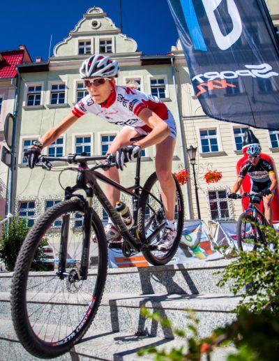 Sprinty rowerowe w Cieszynie
