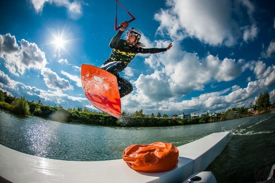 Wakeboardowy boom - Foto: Darek Orlicz