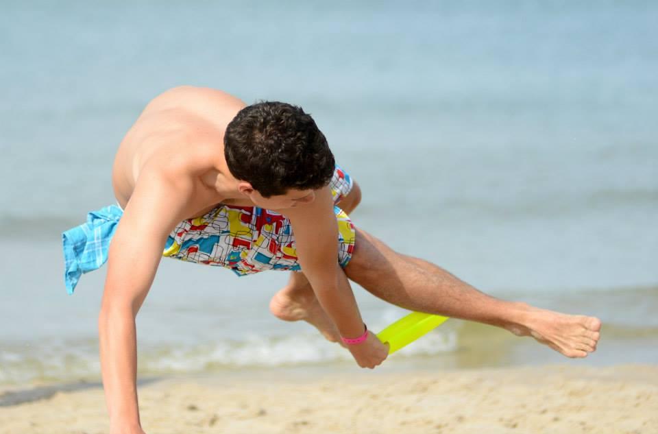 BEACH FRISBEE Sandslash