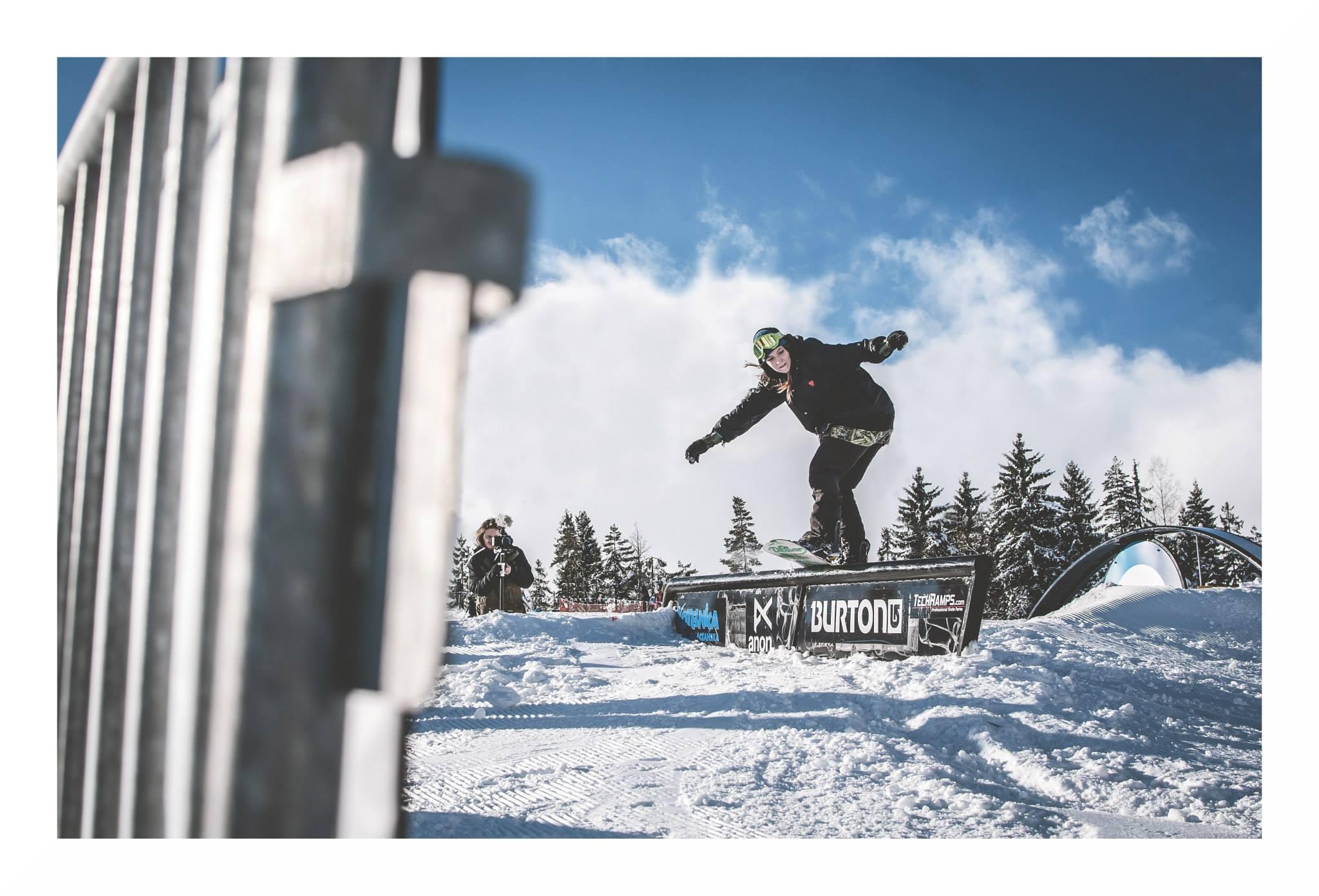 Basia Sekudewicz - Oscyp Snowboard Contest 2015