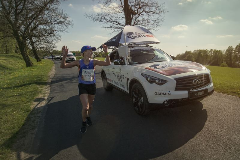 Wings for Life World Run - Dominika Stelmach