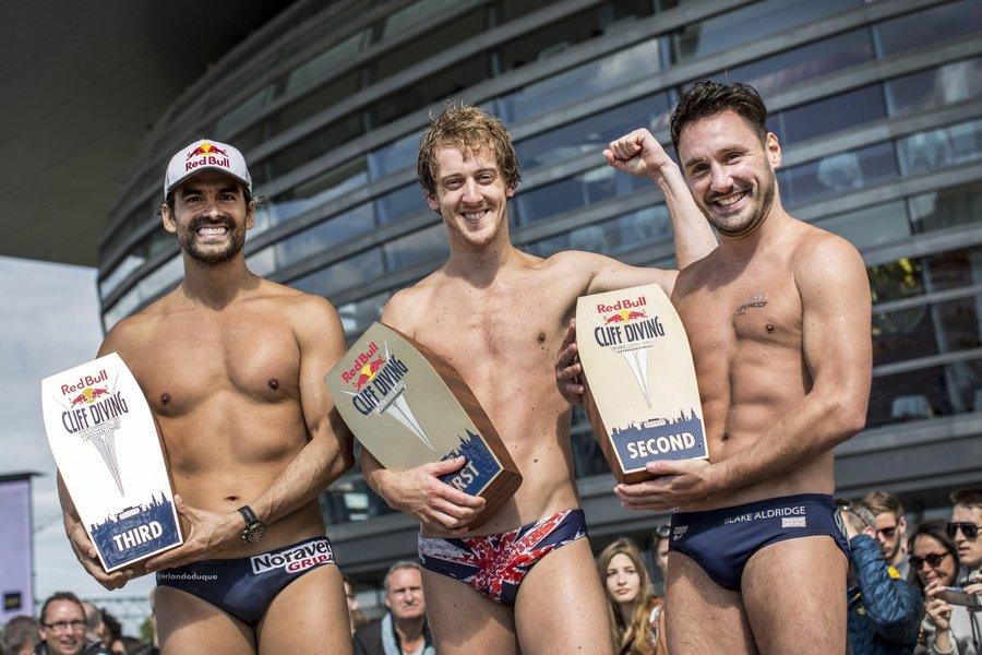 Gary Hunt, Dean Treml, Red Bull Cliff Diving