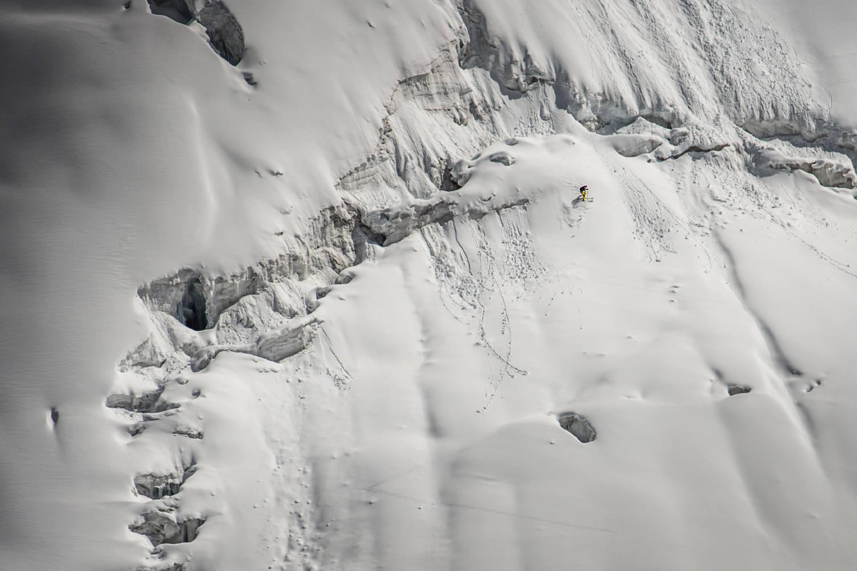 Zjazd na nartach, foto Marcin Kin