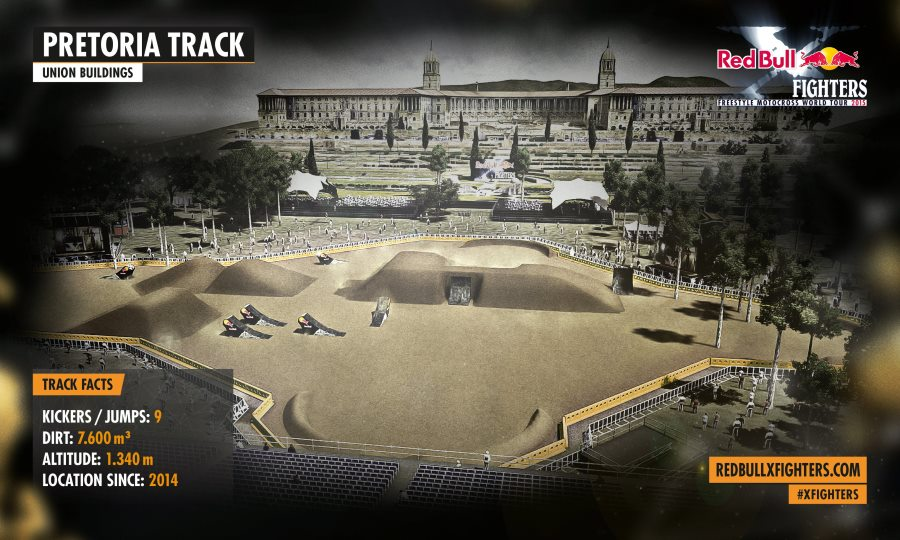Red Bull X-Fighters - Pretoria - tor 2015