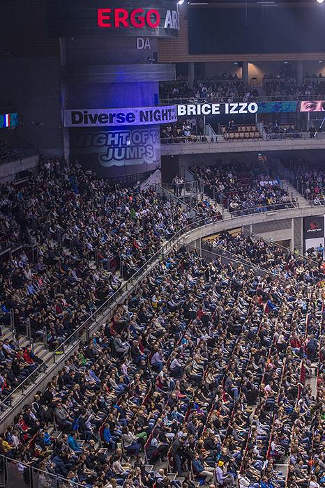 Mistrzostwa Świata Diverse NIGHT of the JUMPs 2015 - Ergo Arena