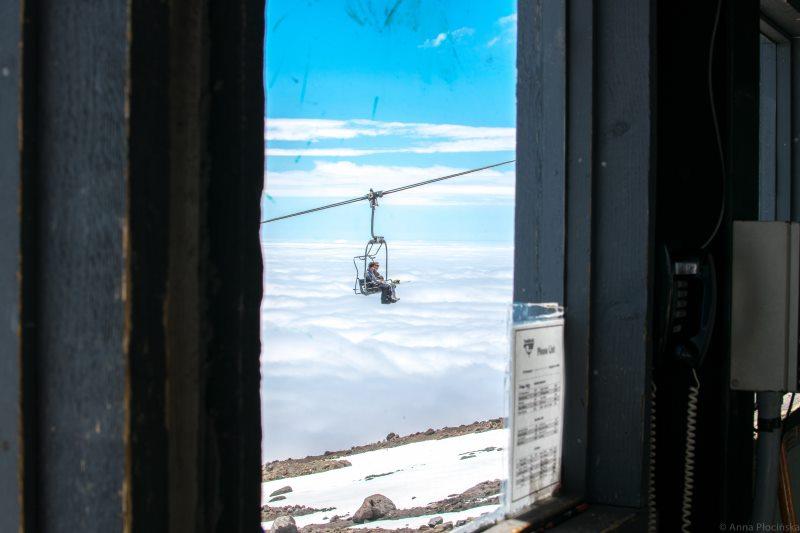 Wyciąg w chmurach