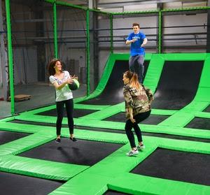 GOjump - największa w Polsce hala z parkiem trampolin