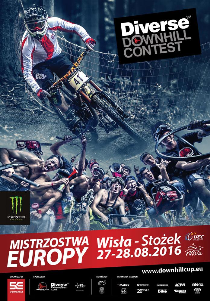 Mistrzostwa Europy DH w Wiśle - 2016