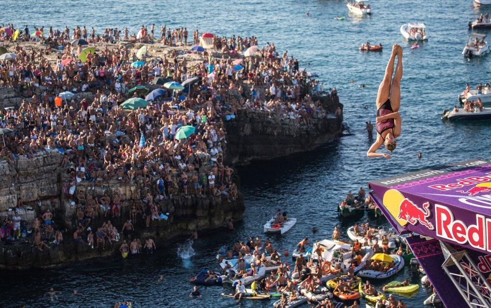 Red Bull Cliff Diving 2016 - Polignano a Mare