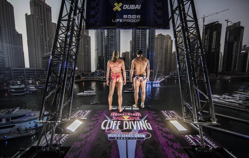 Red Bull Cliff Diving 2016 - Dubaj