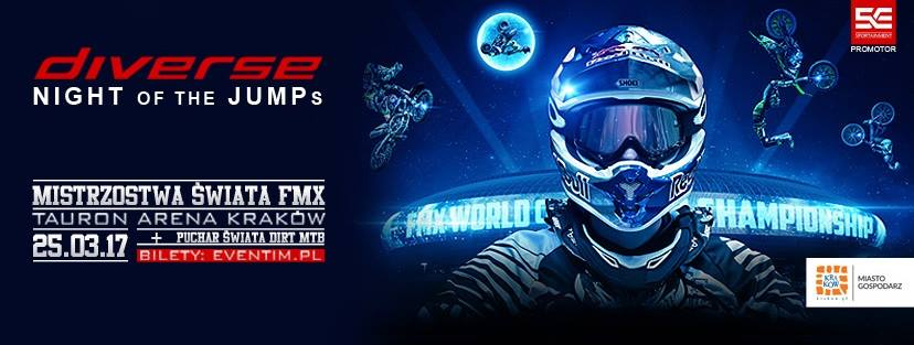 Diverse NIGHT of the JUMPs 2017 - Kraków