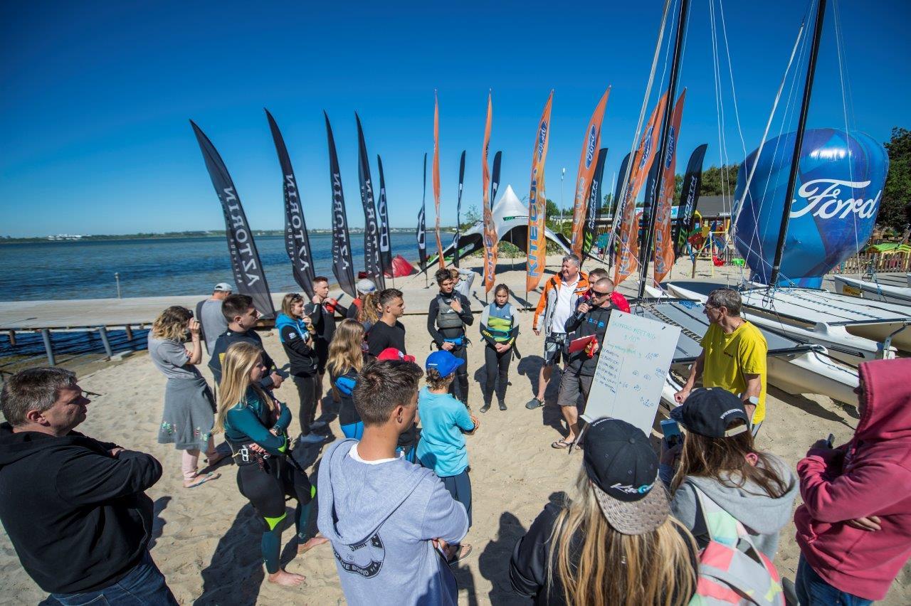 PP w kitesurfingu 26-28.05 Chałupy - dzień 1
