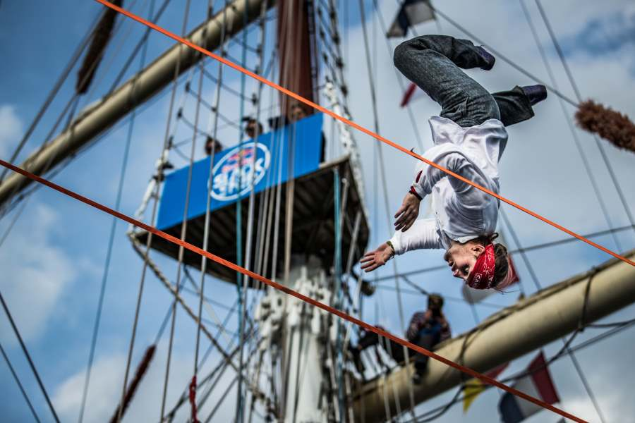 Red Bull Slackship 2017 - Mickey Wilsoon