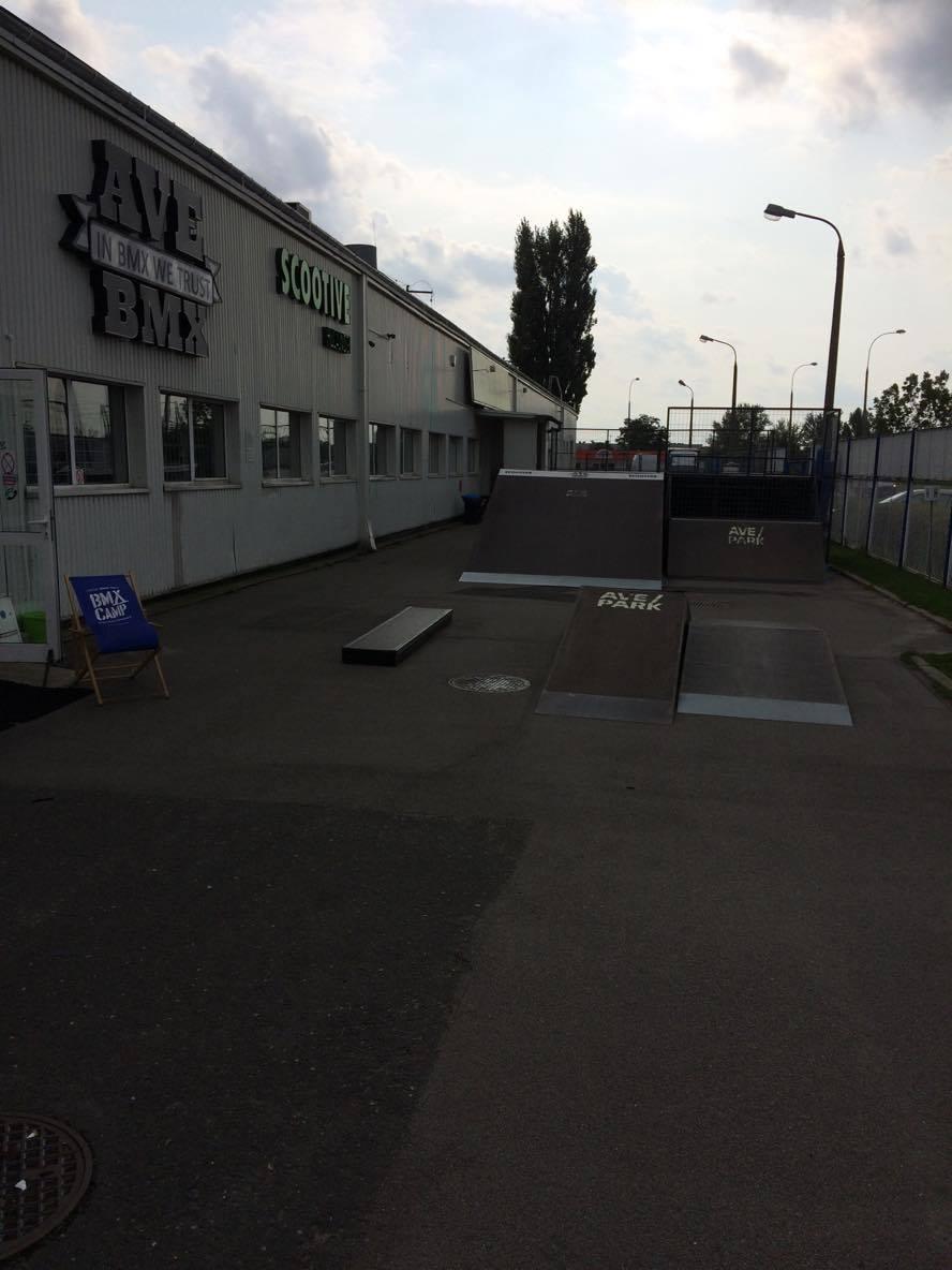 AvePark - skatepark zewnętrzny
