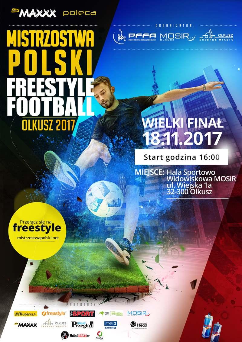 Mistrzostwa Polski Freestyle Football 2017