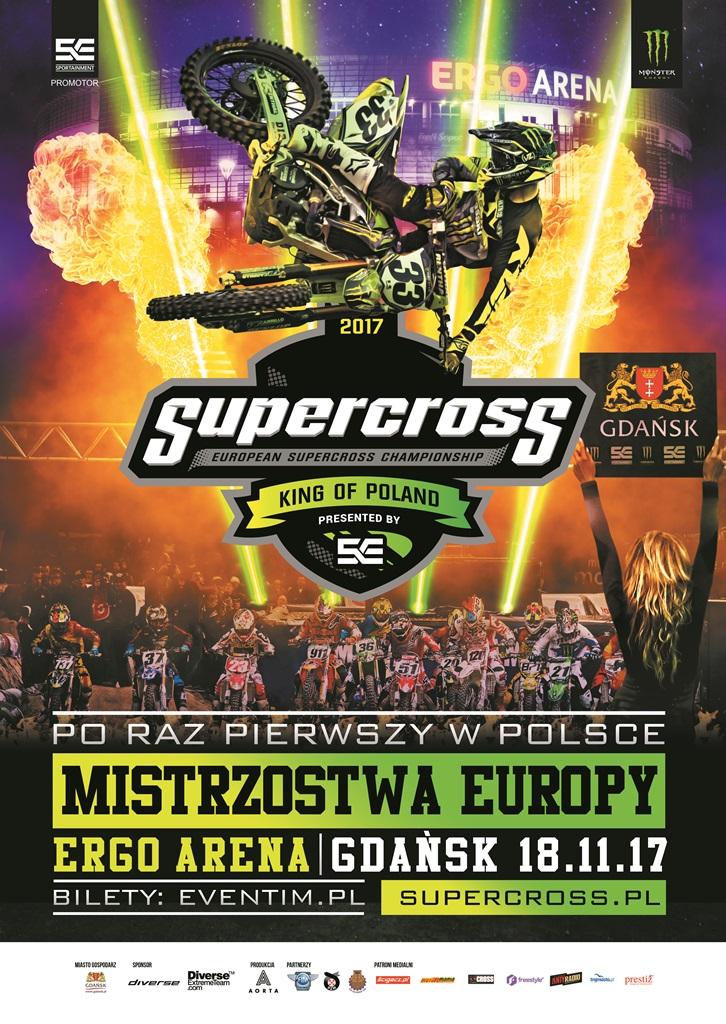 Supercross 2017 plakat