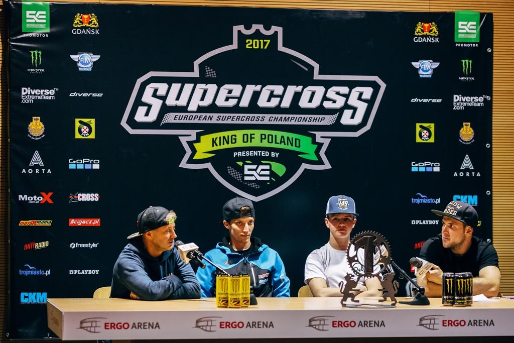 ME Supercross - konferencja