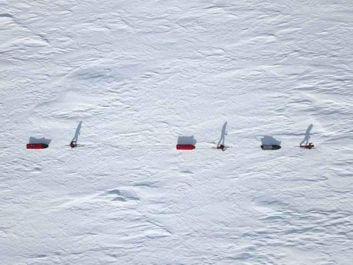Chris Powell z ekspedycją pod kierownictwem legendarnego badacza polarnego Roberta Swana