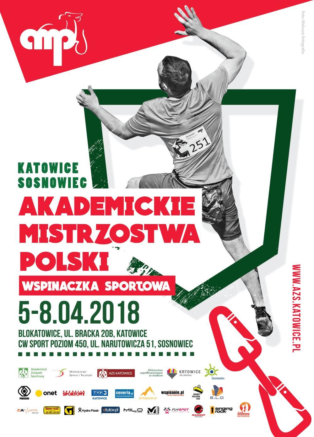 Akademickie Mistrzostwa Polski we Wspinaczce Sportowej 2018