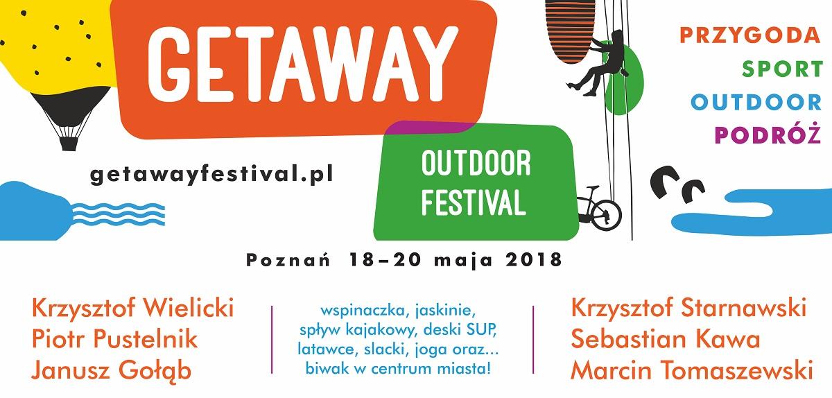 GETAWAY – zaczynamy w najbliższy weekend