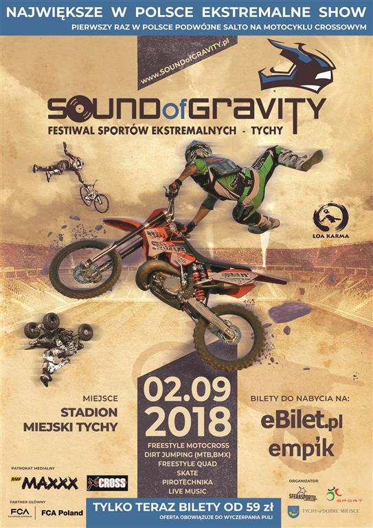 SOUND of GRAVITY - pirotechnika, muzyka, sporty ekstremalne