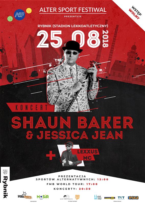 Koncert Shaun Baker
