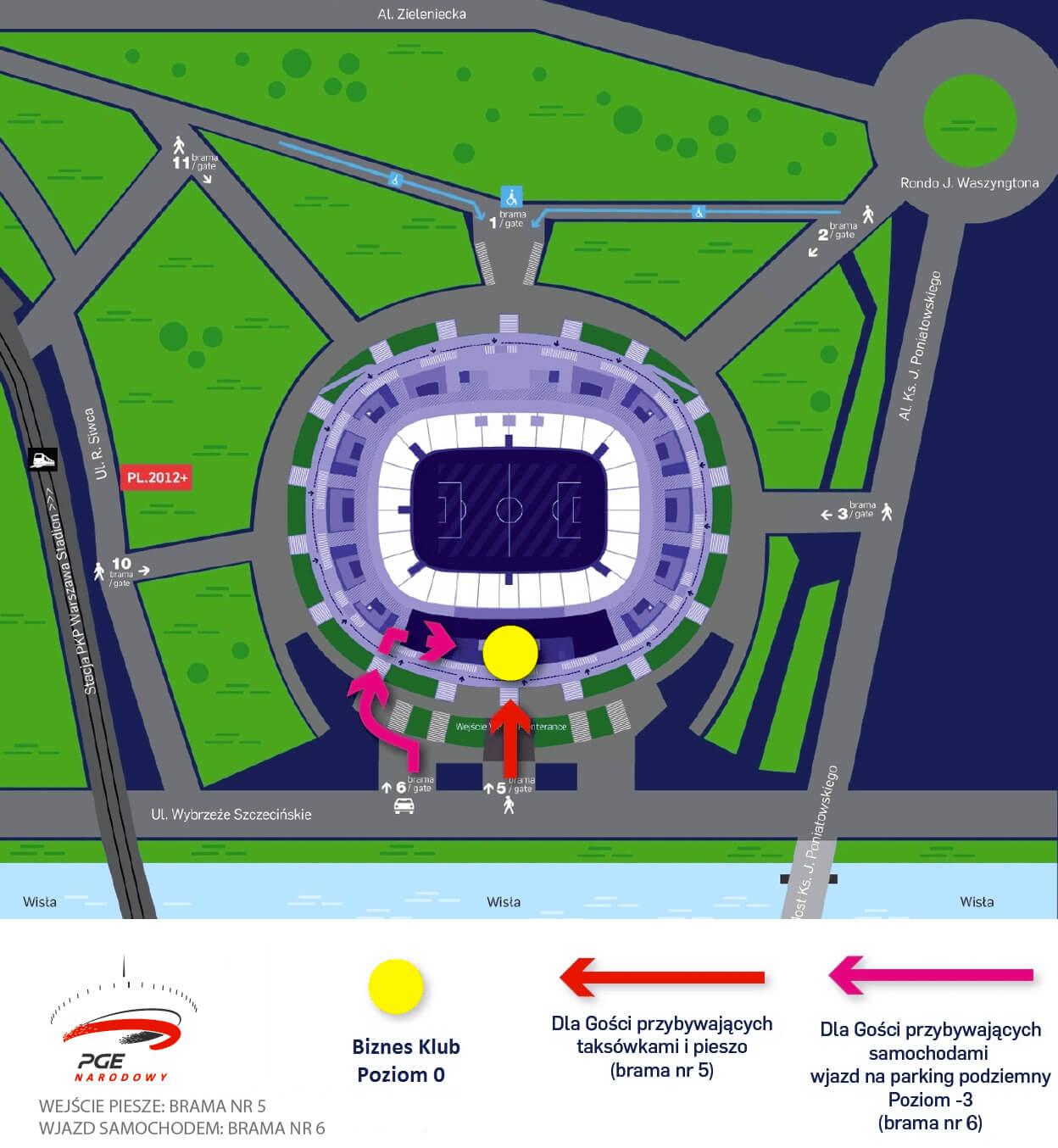 Snow Expo 2018 - plan dojazdu