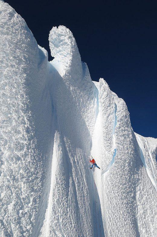 Dani Arnold w Patagonii