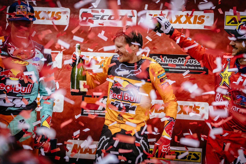 Mistrzostwa Świata SuperEnduro - podium Prestige