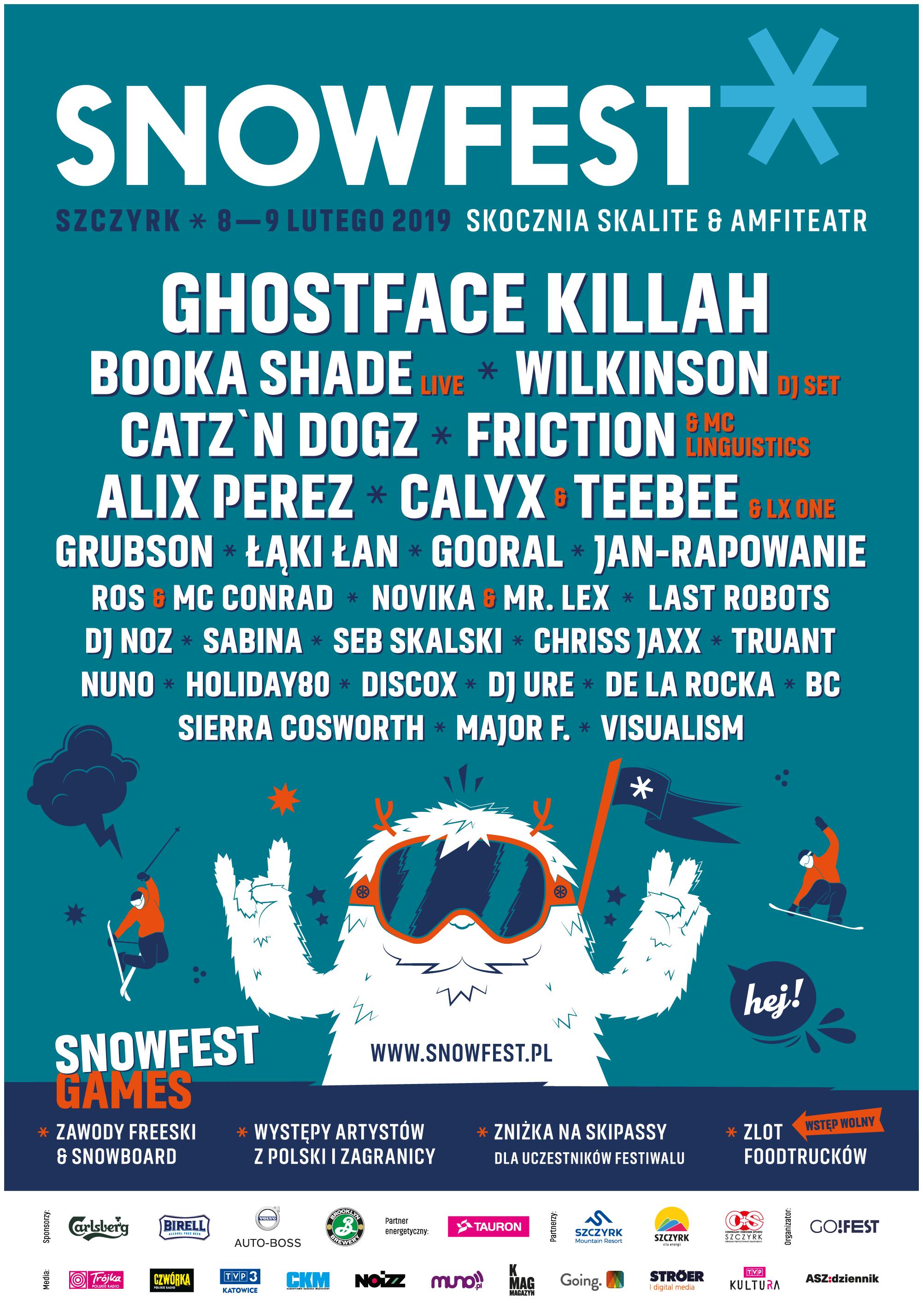 SnowFest 2019 - plakat